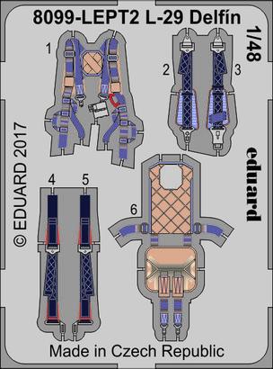 L-29 Delfín PE-set 1/48  - 2