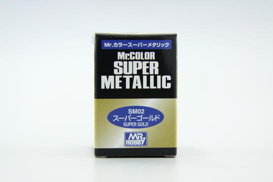 Mr.Color Super Metallic - Super Gold  - 2