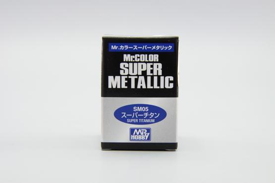 Mr.Color Super Metallic - super titanium  - 2
