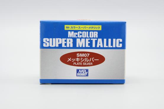 Mr.Color Super Metallic - plate silver  - 2
