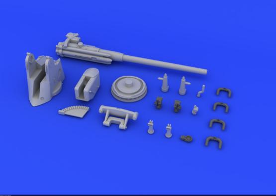 German Submarine 10,5cm gun  1/72 1/72  - 3