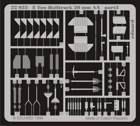 Sd.Kfz.7/1 AA 20 mm 1/72  - 3
