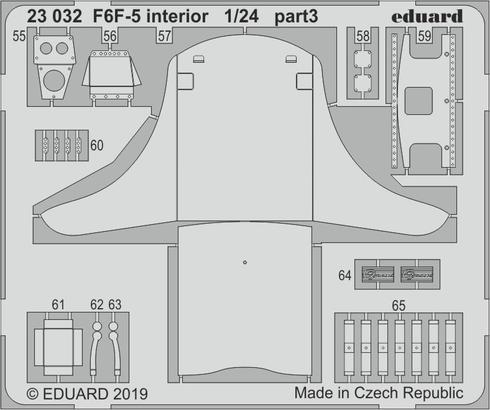 F6F-5 interior 1/24  - 3