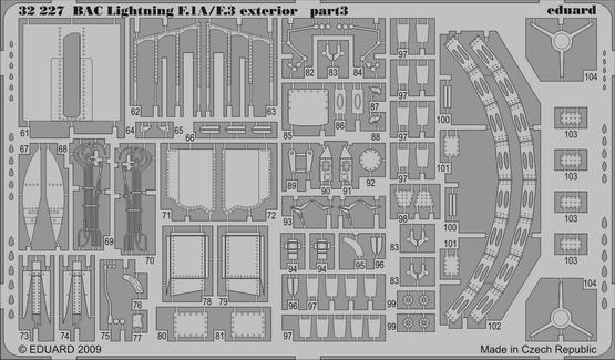 BAC Lightning F.1A/F.3 exterior 1/32  - 3