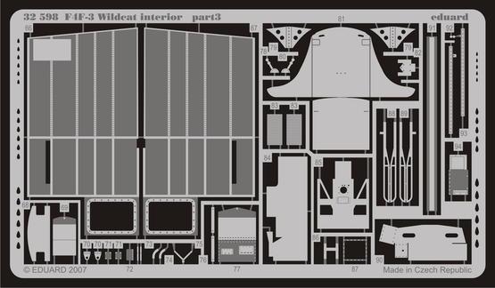 F4F-3 interior S.A. 1/32  - 3
