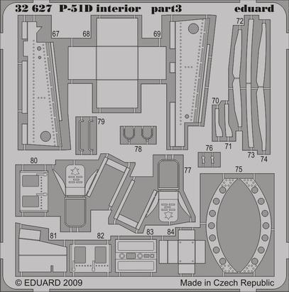 P-51D interior S.A. 1/32  - 3