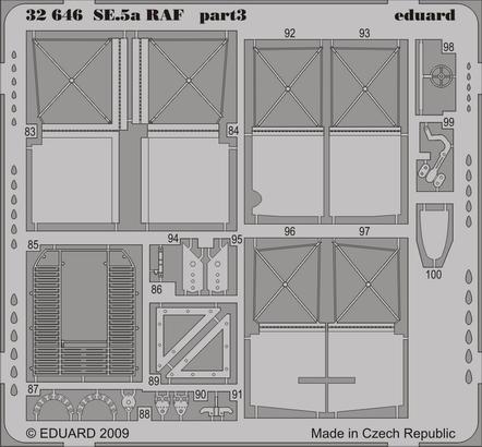 SE.5a RAF 1/32  - 3