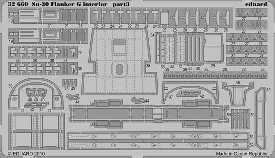 Su-30 Flanker G interior S.A. 1/32  - 3