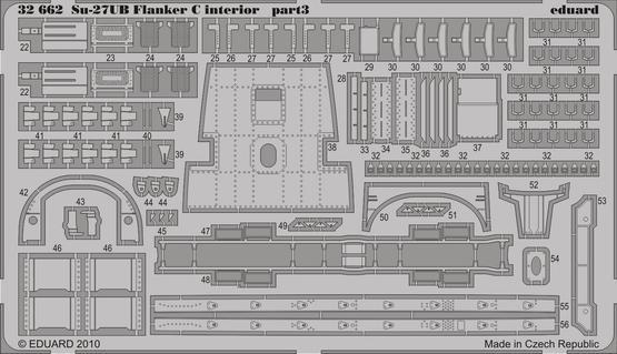 Su-27UB Flanker C interior S.A. 1/32  - 3