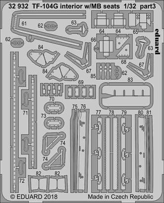 TF-104G interior w/MB seats 1/32  - 3