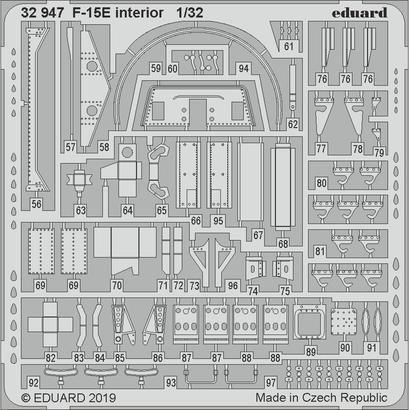 F-15E интерьер 1/32  - 3