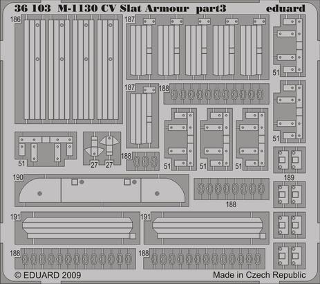 M-1130 CV Slat Armour 1/35  - 3