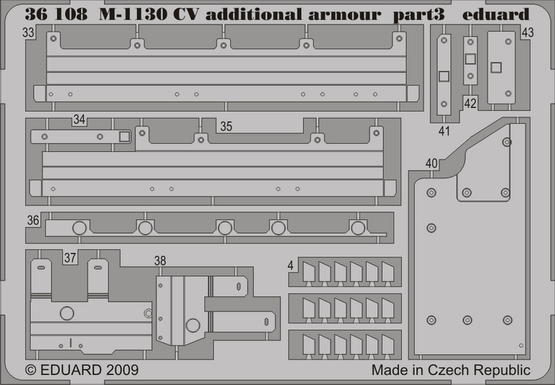M-1130 CV additional armour 1/35  - 3