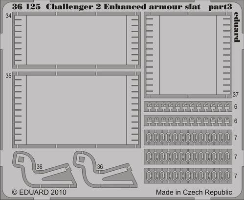 Challenger II Enhanced armour slat 1/35  - 3