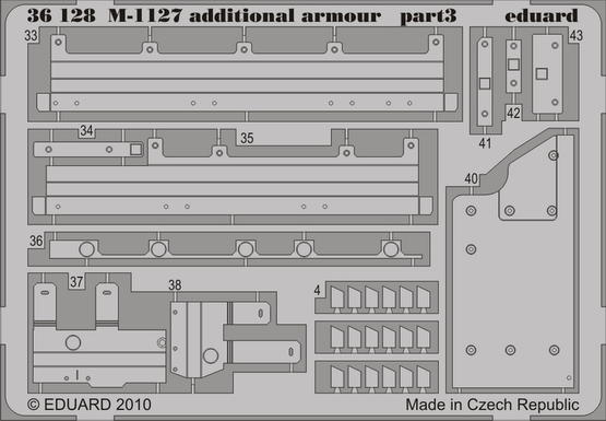 M-1127 additional armour 1/35  - 3