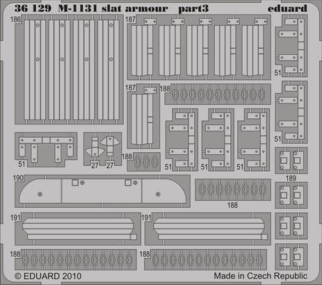 M-1131 slat armour 1/35  - 3