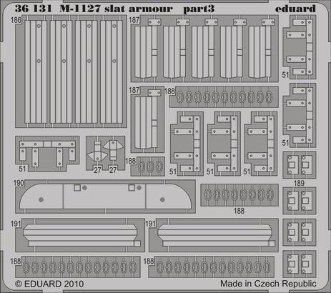 M-1127 slat armour 1/35  - 3