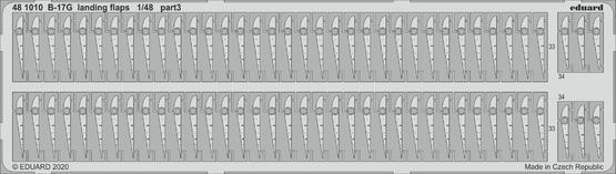 B-17G landing flaps 1/48  - 3