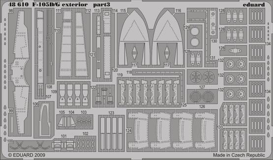 F-105D/G экстерьер 1/48  - 3
