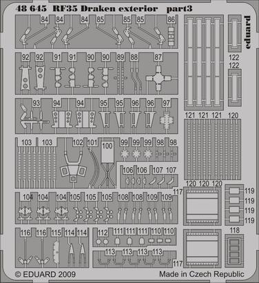 RF-35 Draken exterior 1/48  - 3