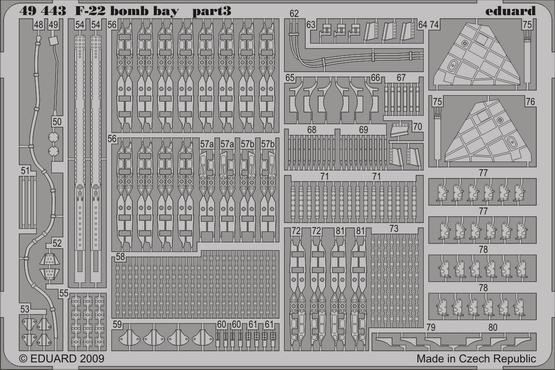F-22 爆弾倉 1/48  - 3