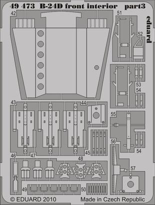 B-24D front interior 1/48  - 3