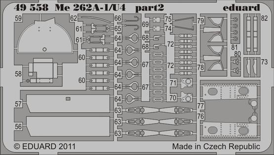 Me 262A-1/U4 S.A. 1/48  - 3