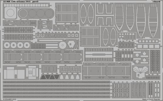 USS Arizona 1941 1/350  - 3