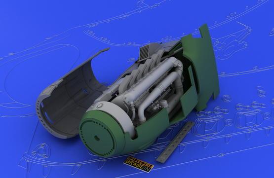 DB 601A/N engine  1/32 1/32  - 3