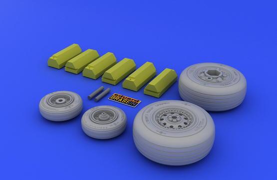 F-4J/S wheels 1/32  - 3