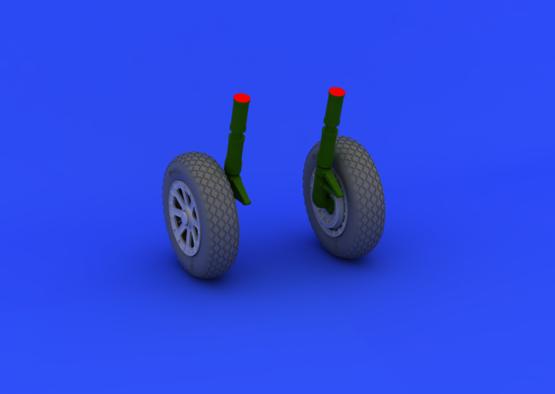 F4U-1 wheels 1/32  - 3