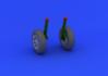 F4U-1 wheels 1/32 - 3/5