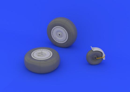 Ju 88 wheels late 1/32  - 3