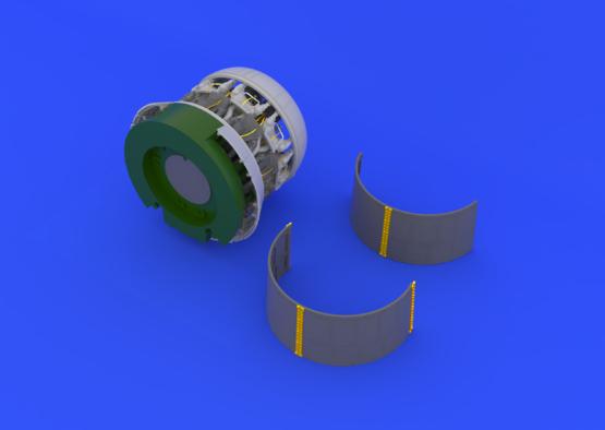 F4U-1 двигатель 1/32  - 3