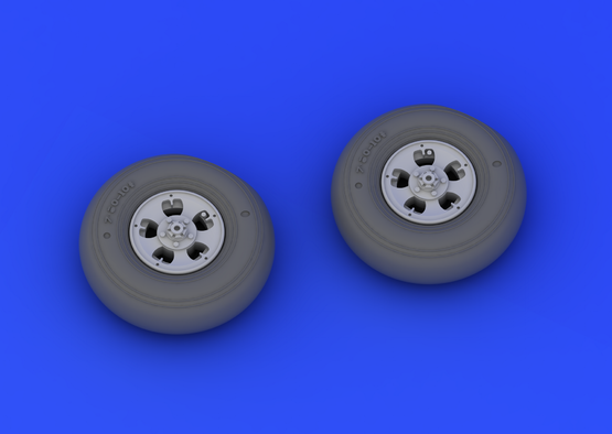 Spitfire Mk.I/II wheels  1/32 1/32  - 3