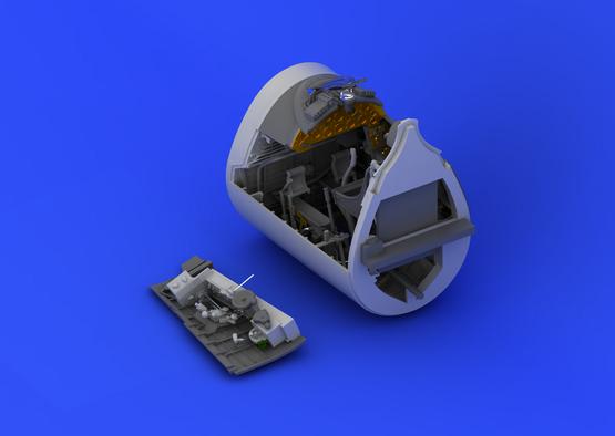 F4U-1 クックピット 1/32  - 3