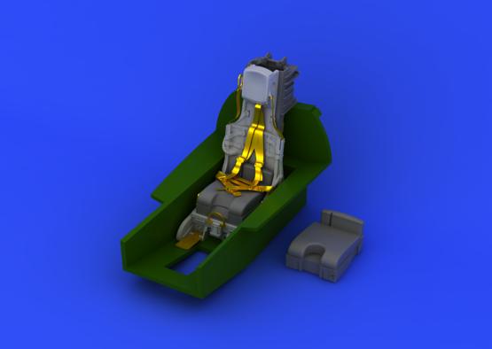 F-104 C2 катапультируемое кресло 1/32  - 3
