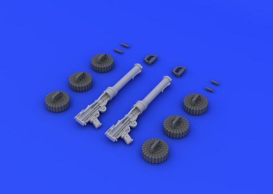 Lewis WWI gun 1/32  - 3