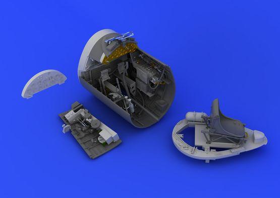 F4U-1A cockpit  1/32 1/32  - 3