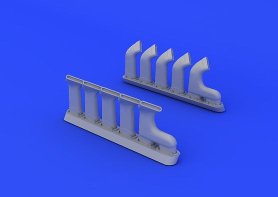 Mosquito FB Mk.IV exhaust stacks 1/32  - 3