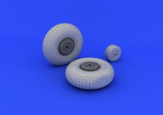 Mosquito Mk.VI wheels  1/32 1/32  - 3