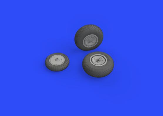 Me 262 wheels 1/32  - 3