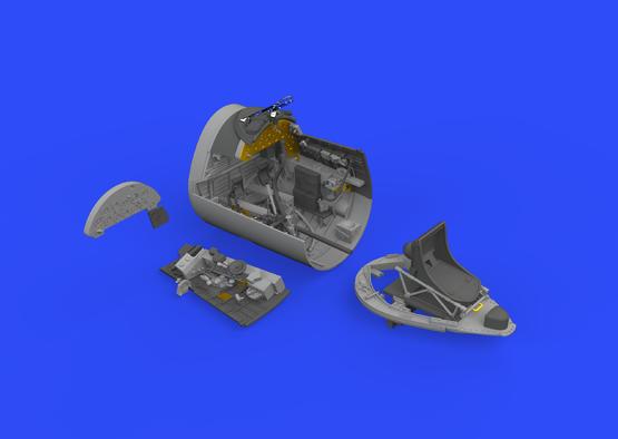 F4U-1D cockpit 1/32  - 3