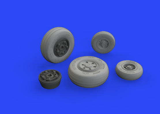 F/A-18E wheels 1/32  - 3
