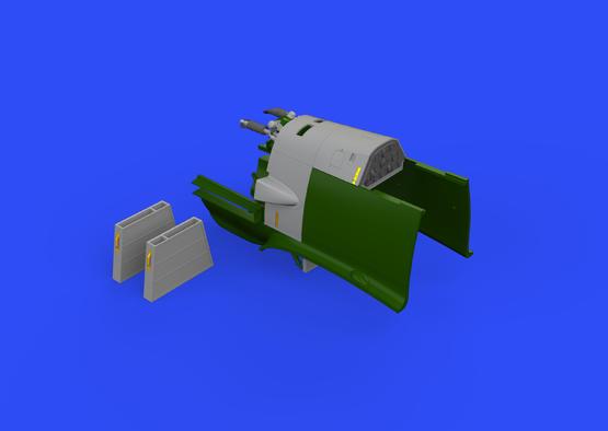Bf 109E trupové zbraně 1/32  - 3
