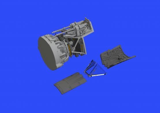 Fw 190A-4 fuselage guns 1/48  - 3