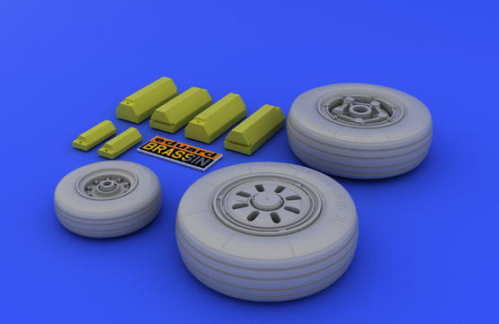 F-22A wheels  1/48 1/48  - 3