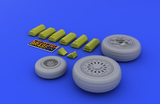 F-16 early wheels 1/48  - 3