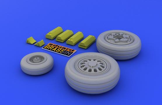 F-16 late wheels  1/48 1/48  - 3