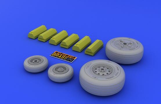 F-4J/S wheels  1/48 1/48  - 3